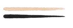 01 Vanilla and Black swatches - Double Dare Campus Idol - Kiko